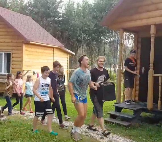 """""""36 ступеней Шаолиня"""", финальный утренний подъем"""