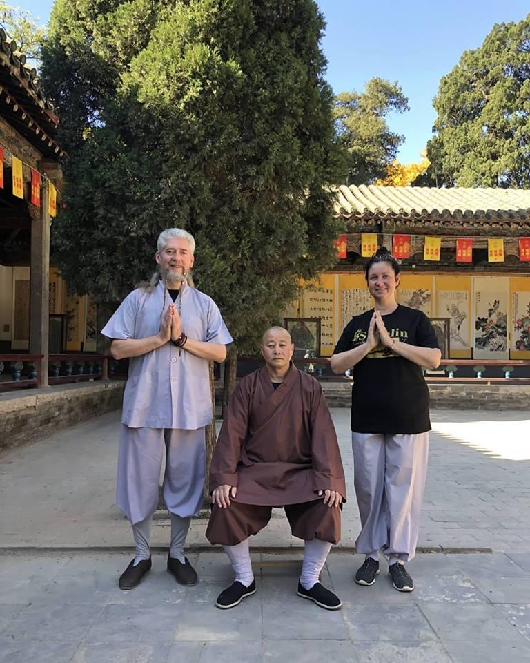 Встреча Роговы с Настоятелем Храма Шаолинь