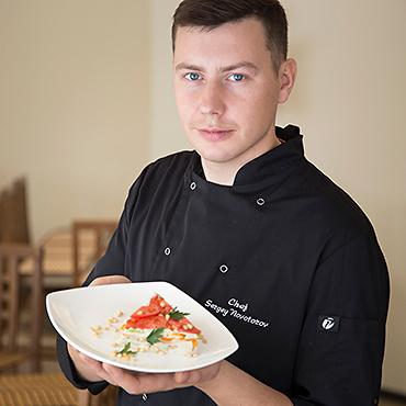 Сергей Новоторов Шеф-повар Ресторана-Дзэн