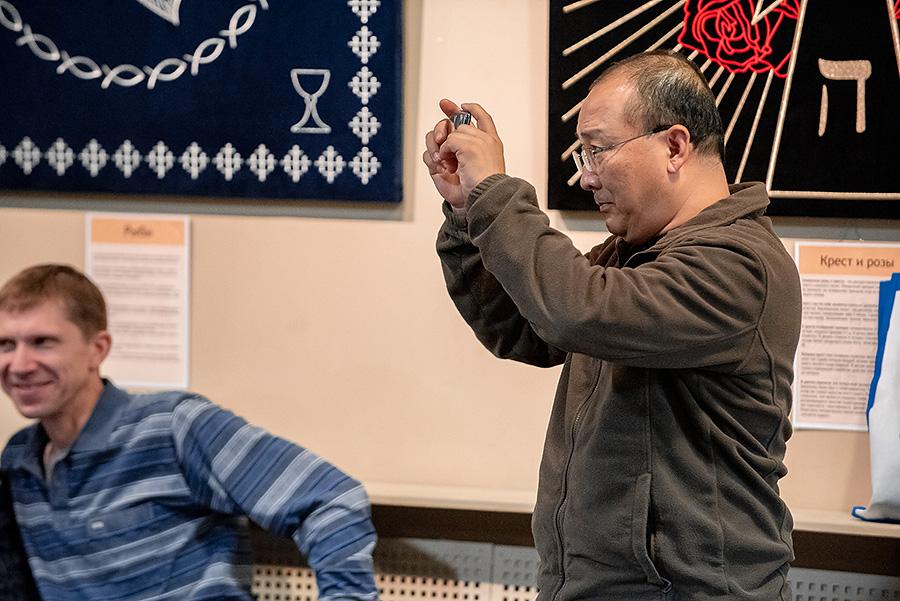 Благодарим Ши Ян Ронга за помощь в проведении семинаров и лекции.