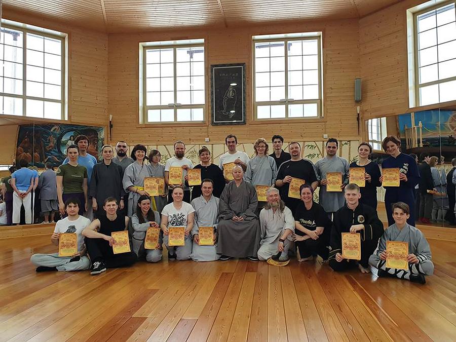 С 22 по 24 февраля состоялся семинар, посвященный драгоценности Чань